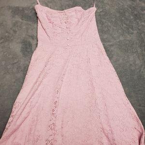 Small pink summer dress